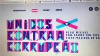Se cadastre no Site Unidos Contra a Corrupção, uma campanha essencial para mudar o Brasil