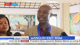 WANGUSI EXIT ROW: CAK board insists Wangusi\'s term is over, shocked that he\'s going to court
