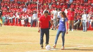 Sultan Salman Khan vs millionaire nita ambani Football Match