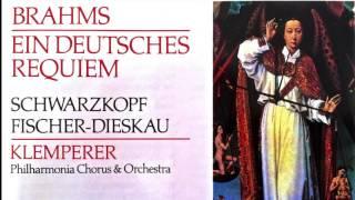 Brahms - Ein Deutsches Requiem / German Requiem (recording of the Century : Otto Klemperer)