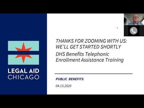 Public benefits online enrollment training - YouTube