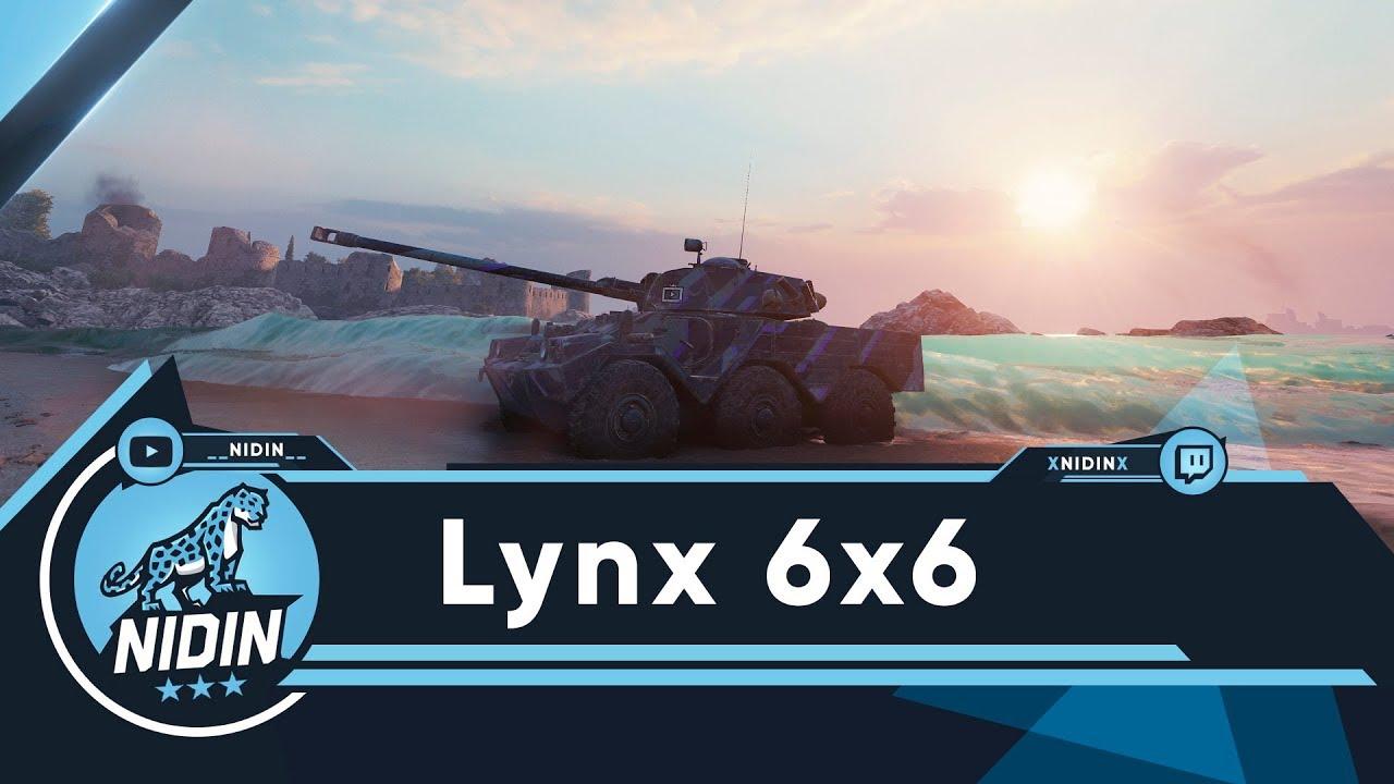Lynx 6x6 ● Колёсные ЛТ