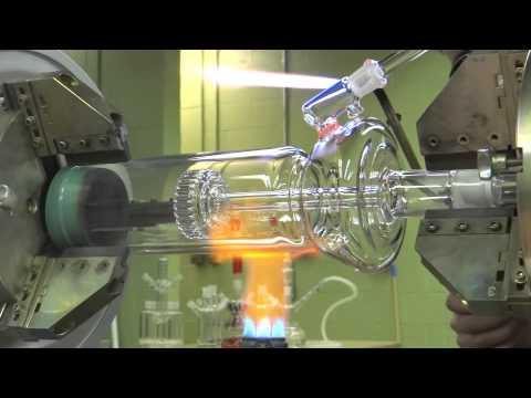 Как делают стеклянные кальяны