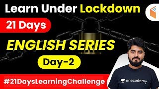 7:45 AM - Learn Under Lockdown | English by Vishal Sir | Special Series (Day-2)