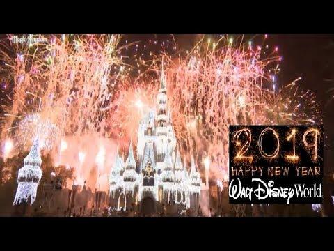 New Years Eve Fireworks Walt Disney World 2019 - Magic Kingdom Fantasy In The Sky Full Show