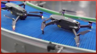 Incredible DJI Drone Manufacturing Process | Inside a Highly-Automated Factory