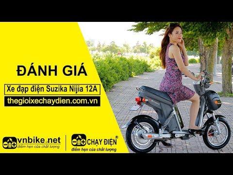 Đánh giá xe đạp điện Suzika Nijia 12A