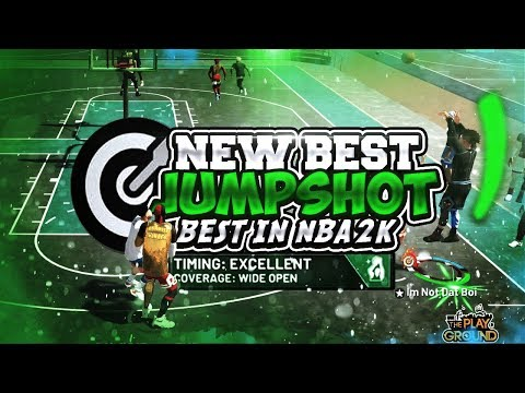 The NEW BEST JUMPSHOT on NBA2K19...