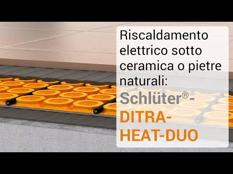 Riscaldamento elettrico sotto ceramica o pietre naturali: Schlüter-DITRA-HEAT-DUO