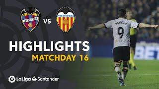 Highlights Levante UD vs Valencia CF (2-4)