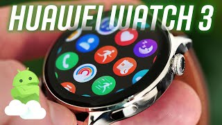 Huawei Watch 3 review: A circular Apple Watch for Android?