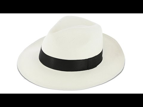Panama Hat (Classic Toquilla Straw) by Nature & Découverte in 4K