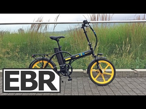 Ness Rua Video Review – $1.4k Sturdy Folding Electric Bike, Fenders, Rack, Lights