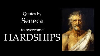WATCH THIS IF YOU FEEL STAGNANT | Quotes By Seneca To Overcome Hardships!