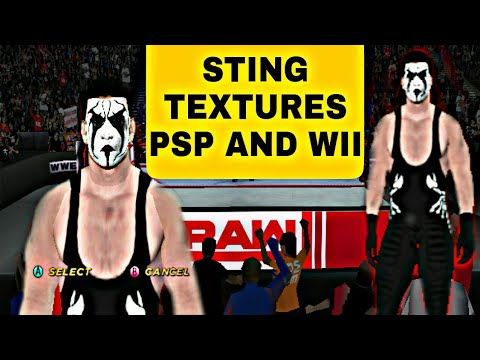 Download WWE Sting Caw PSP And Wii Textures HD Mp4 3GP Video and MP3