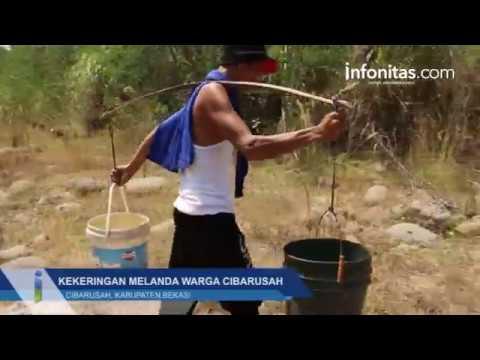 Kekeringan Melanda Warga Cibarusah Kabupaten Bekasi