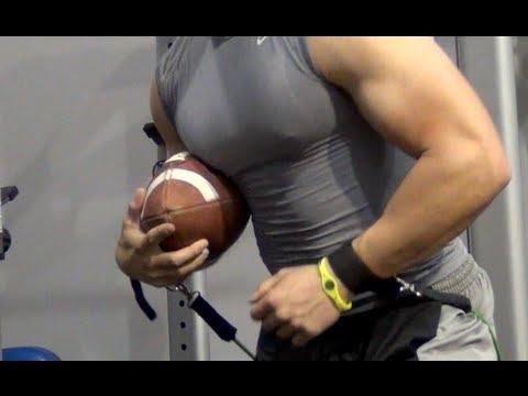 Receiver Drills   Football Training   Agility drills - YouTube