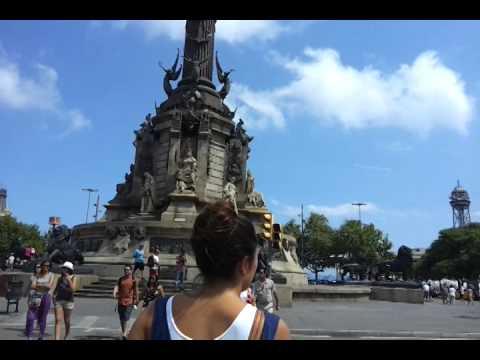 Памятник Колумбу Mirador de Colom Barcel