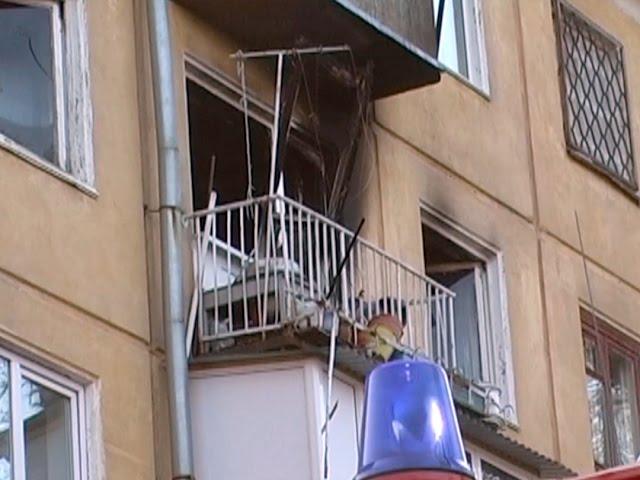 Квартира выгорела полностью