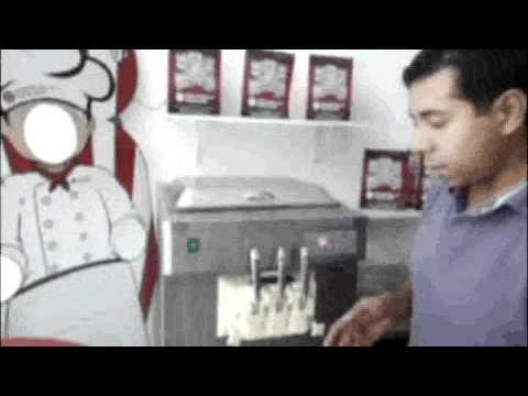 MAQUINA DE HELADO SUAVE - DESARROLLO MEXICANO