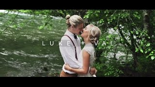 Wedding In A Rainy Forest // Luke & Val