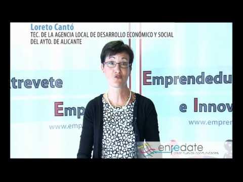 Loreto Cantó, Técnico Agencia Desarrollo Económico y Social del Ayuntamiento de Alicante