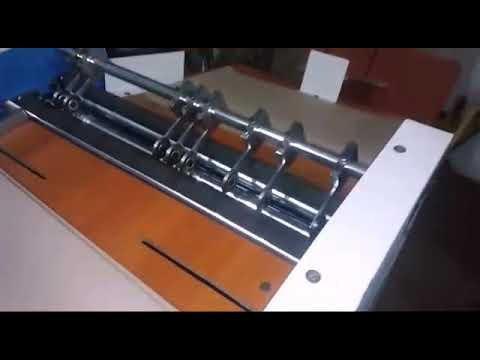 Paper Bag Creasing Machine