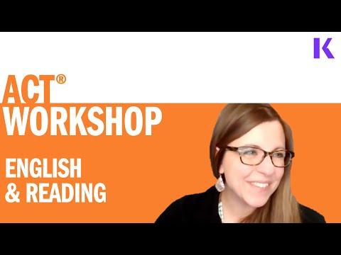 ACT Prep Class: English & Reading - YouTube
