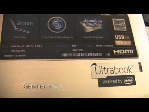 Asus S56CA Aluminum Laptop Showcase & Review