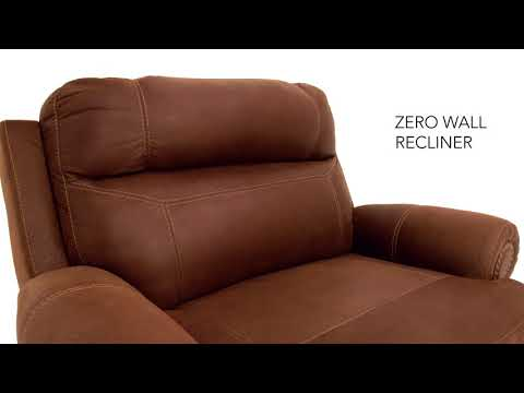 Austere 3840082 Zero Wall Power Wide Recliner