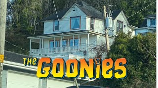WE GOT AS CLOSE AS WE COULD TO THE GOONIES HOUSE!