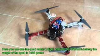 FPV equipment for DJI F-450