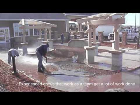 Construction Pressure Washing On A Tight Schedule.mov