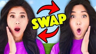 TWIN SWAP! Vy & Regina in Disguise as Twins to Prank Hacker Ex-Boyfriend Crush into a Face Reveal!