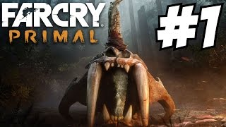 Far Cry Primal Gameplay Walkthrough Part 1 Let's Play 1080p Impressions Review