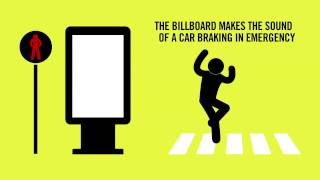 PARISIAN ROAD SAFETY AUTHORITY / THE VIRTUAL CRASH BILLBOARD