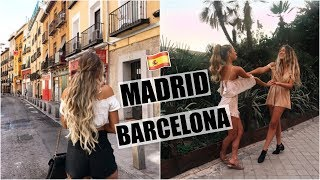 Madrid & Barcelona! // Spain 2017