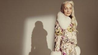 Быть моделью в 63 года: Валентина Ясень в модной съемке Glamour