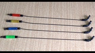 Сигнализатор поклевки на цепочке своими руками