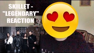 "Skillet   ""Legendary""  Lyric Video Reaction! Victorious Album Coming Soon! | MattSkilletGuy."