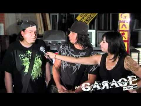 "Thrash punk band ""SANS FAITH"" perform in ""The Garage"""