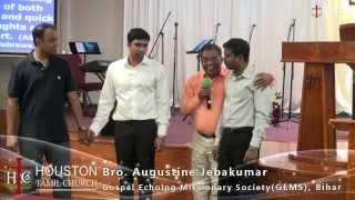 Identity Explained - Mind, Body And Soul - Bro Augustine Jebakumar - Houston Tamil Church