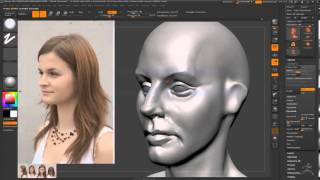 Gambar cover ZBrush Timelapse female head