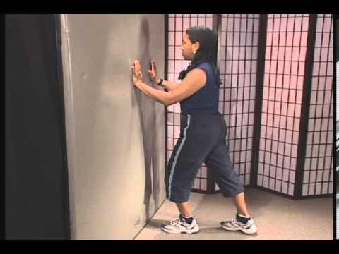 Floor Calf Stretch