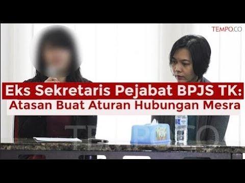 Eks Sekretaris Pejabat BPJS TK: Atasan Buat Aturan Hubungan Mesra