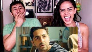 BADHAAI HO   Ayushmann Khurrana   Sanya Malhotra   Trailer Reaction!