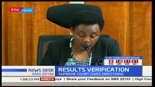 IEBC chair Wafula Chebukati will not amend electoral laws as ruled by supreme court
