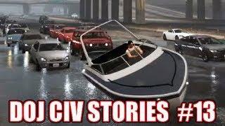 GTA5 RP | DOJ Civ Stories #13 - George Goes Sailing