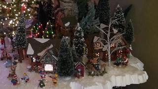 Christmas Open House (Home Tour) 2016 (Villages And Decorations)