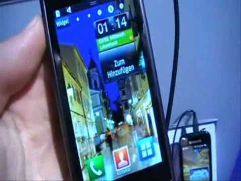 Youtube Video Samsung Wave S8500 in charcoal grey